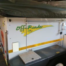 4x4 off road camping trailer rental