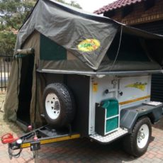 echo 3 4x4 trailer rental tent